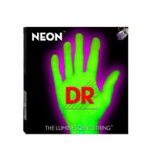DR NEON NGB-40 Neon Green Luminescent/Fluorescent Bass Guitar Strings 40-100